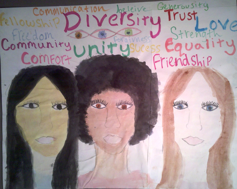 Diverse Faces and Words