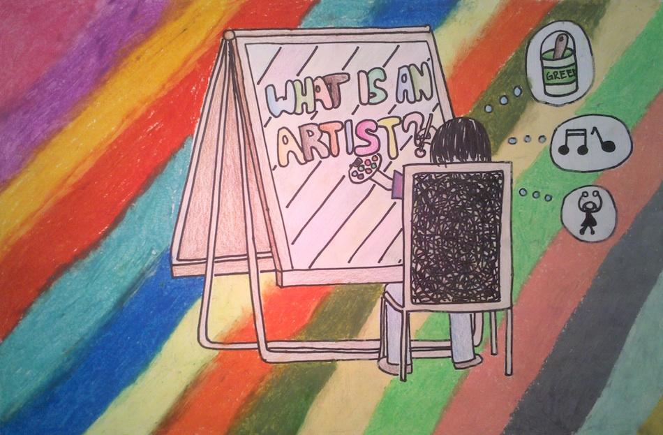 Artist: Rainbow Easel