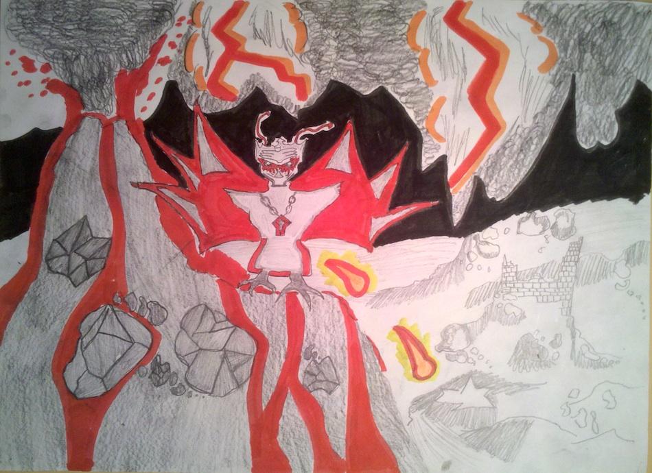 Lava Scene