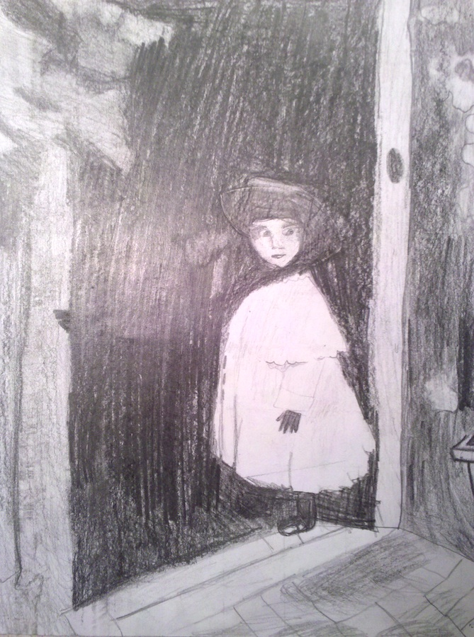 Child in Doorway