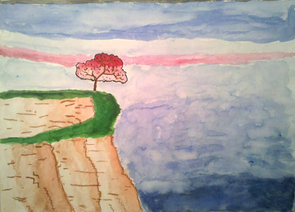 Red Tree Cliff