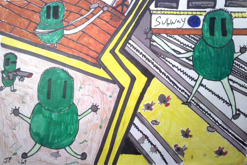 Subway Creatures